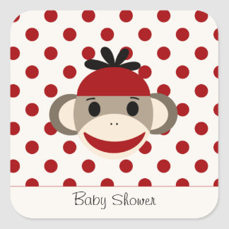 Cute Stickers By The Sock Monkey Shoppe