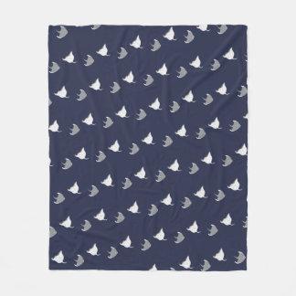 Cute Stingrays Fleece Blanket