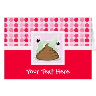 Cute Stinky Poo Greeting Card