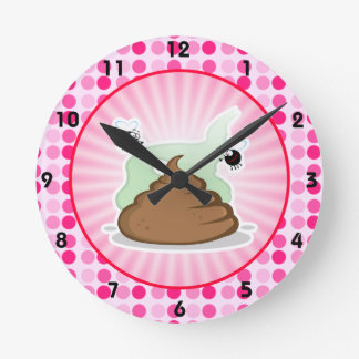 Cute Stinky Poo Clocks