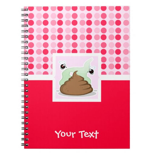 Cute Stinky Poo Note Book