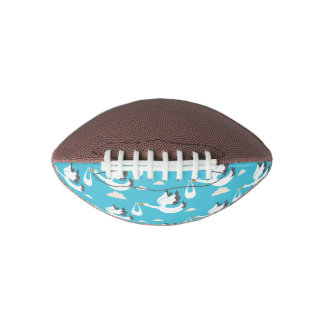 Cute Storks carrying babies pattern Football