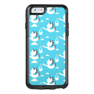 Cute Storks carrying babies pattern OtterBox iPhone 6/6s Case