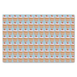 Cute Strawberry Bun Pattern Tissue Paper