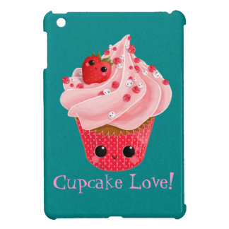 Cute Strawberry Cupcake iPad Mini Covers