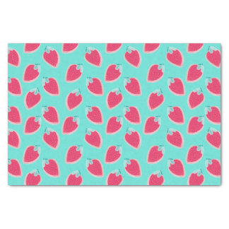 Cute Strawberry Fruit Pattern Tissue Paper