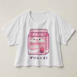 Cute Strawberry Milk T-shirt