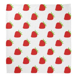 Cute Strawberry Pattern Bandana
