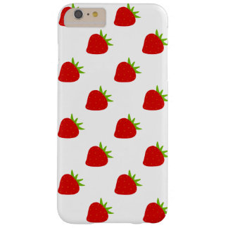 Cute Strawberry Pattern | Barely There iPhone 6 Plus Case