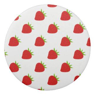 Cute Strawberry Pattern Eraser