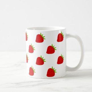 Cute Strawberry Pattern Kids Mug