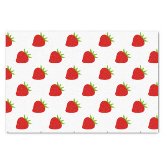 Cute Strawberry Pattern Tissue Paper