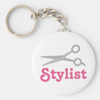 Cute Stylist Keychain