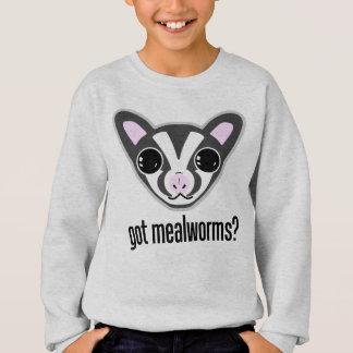 Cute Sugar Glider Got Mealworms Sweatshirt