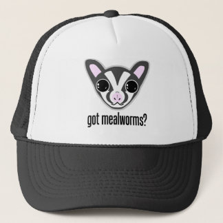 Cute Sugar Glider Got Mealworms Trucker Hat