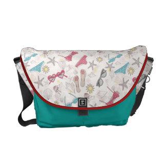 Cute Summer Abstract Pattern Commuter Bags