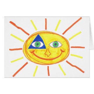 Cute Sun Card