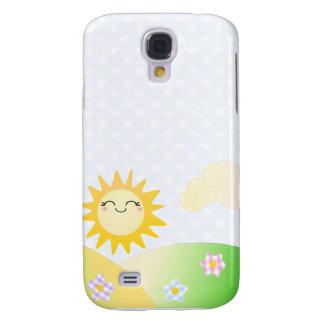 Cute sun kawaii cartoon samsung galaxy s4 case