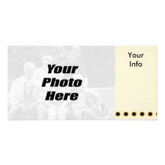 Cute Sunflower Photo Cards
