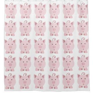 Cute Surprised Pink Pig pattern
