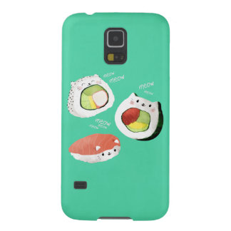 Cute Sushi Cat Cases For Galaxy S5