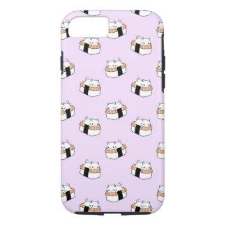 Cute Sushi Cat Pattern iPhone 8/7 Case