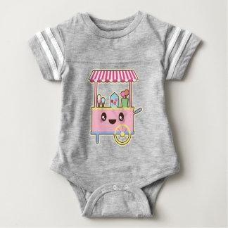 Cute Sweet Cart - Ice Cream Baby Bodysuit