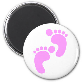 Cute Sweet Footsteps Funny Shirt Magnet