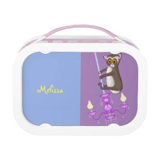 Cute swinging Loris Lunch Box
