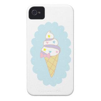Cute Swirl Ice Cream Cone Case-Mate iPhone 4 Cases