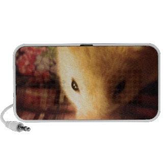 Cute Syrian Hamster Portable Speakers