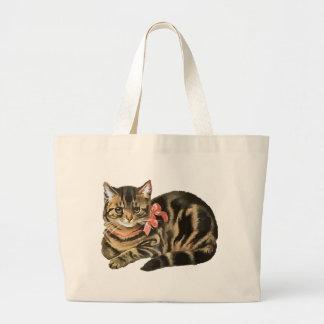 Cute Tabby Calico Cat / Kitten Bag