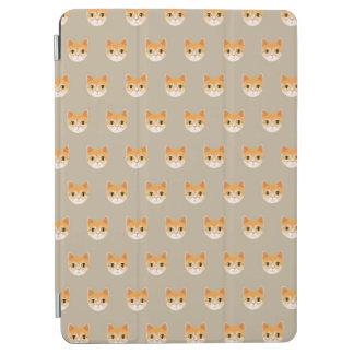 Cute Tabby Cat Illustration iPad Air Cover
