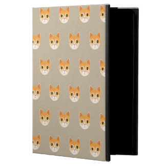 Cute Tabby Cat Illustration iPad Air Cover