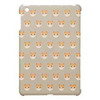 Cute Tabby Cat Illustration iPad Mini Covers