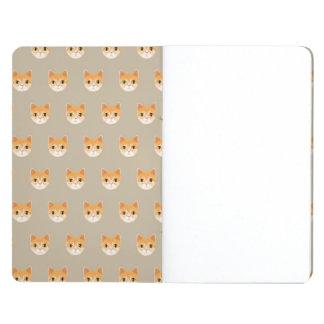 Cute Tabby Cat Illustration Journal