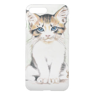Cute Tabby Watercolor Art iPhone 8 Plus/7 Plus Case