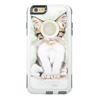 Cute Tabby Watercolor Art OtterBox iPhone 6/6s Plus Case