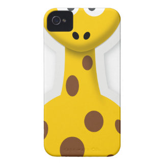 Cute tall giraffe zoo animals Case-Mate iPhone 4 cases