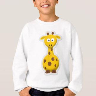 Cute tall giraffe zoo animals sweatshirt