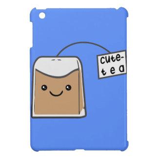 Cute tea iPad mini cover