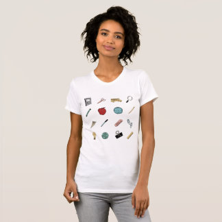 Cute Teachers School Supplies T-Shirt