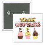 Cute Team Cupcake pin