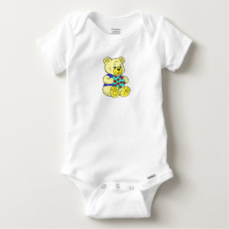 Cute Teddy Bear Baby Onesie