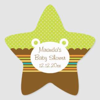 Cute Teddy Bear Baby Shower Sticker