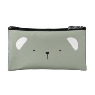 Cute Teddy Bear Cosmetic Bag