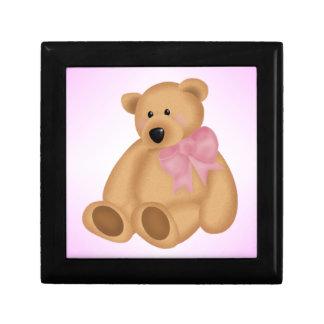 Cute Teddy Bear, For Baby Girl Gift Box