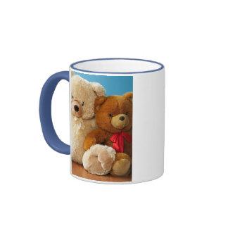 Cute Teddy Bear Friends Coffee Mug