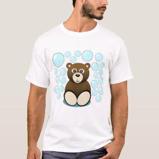 cute teddy bear in bubbles T-Shirt