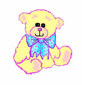 Cute Teddy Bear Ornament Photo Cut Out